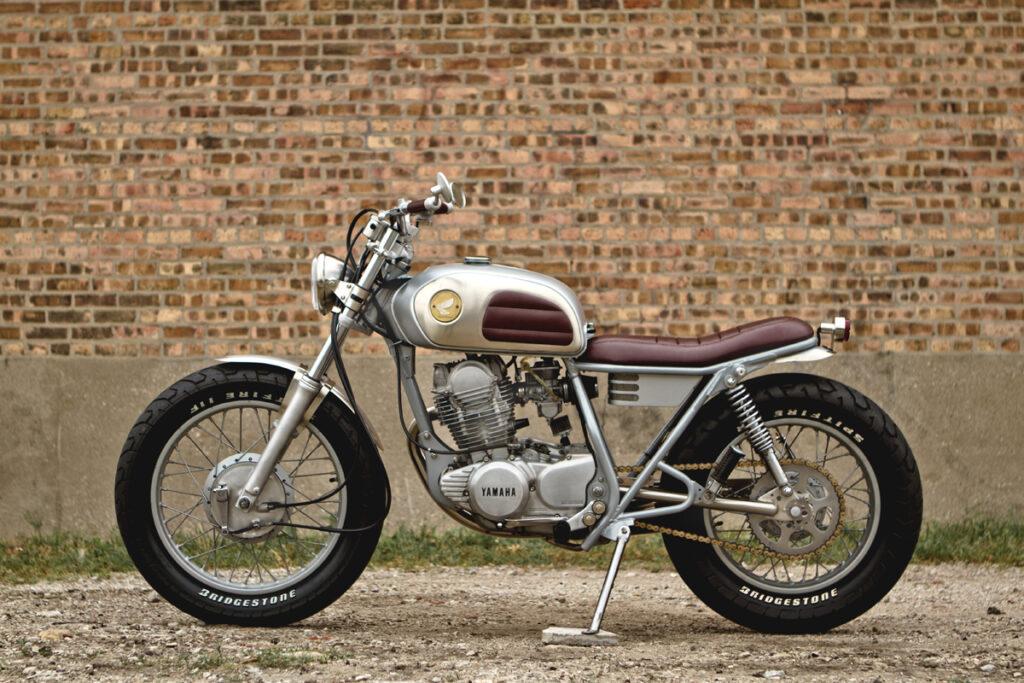 SR 250 Brat Style - Dave Mucci steht für klare Linien