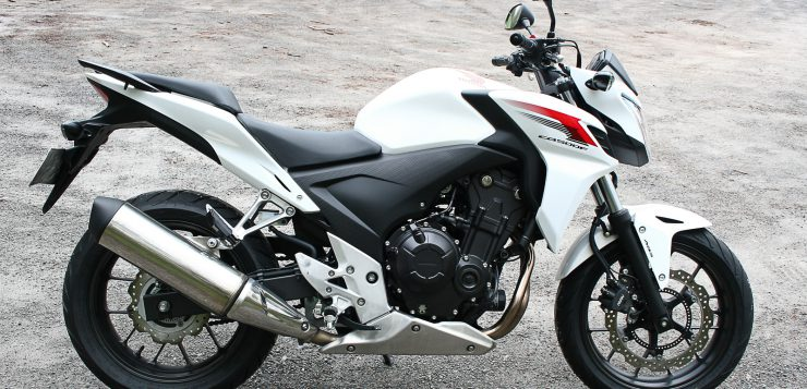 Honda CB 500 F Modelljahr 2013