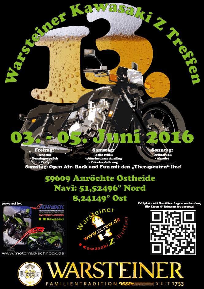 13. Warsteiner Kawasaki Z-Treffen