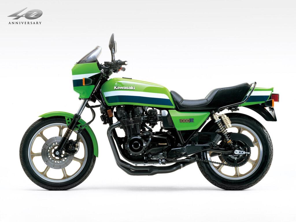 Markant: die Sitzmulde der Kawasaki Z 1000 R