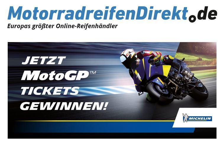 Ticketverlosung für den MotoGP am Sachsenring