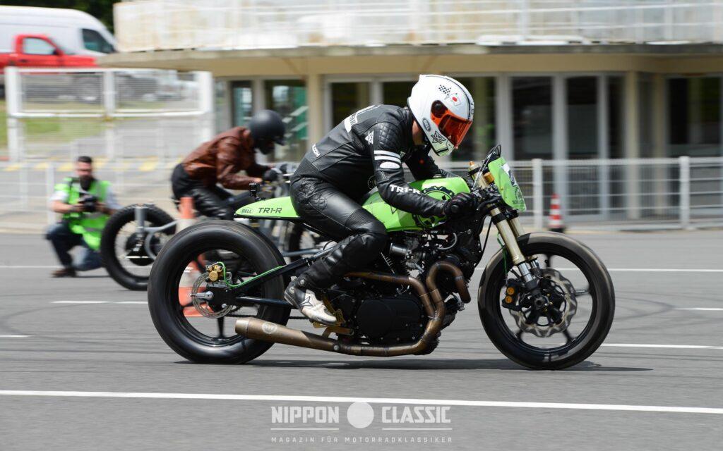 Sieger-Motorrad: Yamaha TR1 'Skinny Beast' von Thomas Thöring