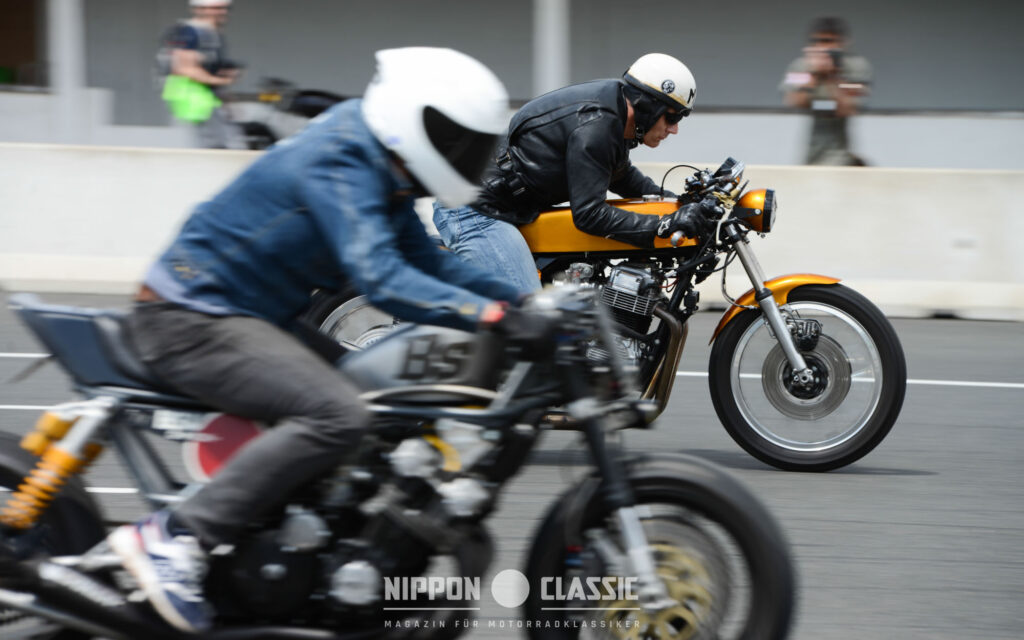 Beim Cafe Racer Festival waren auch Sprintrennen angesagt