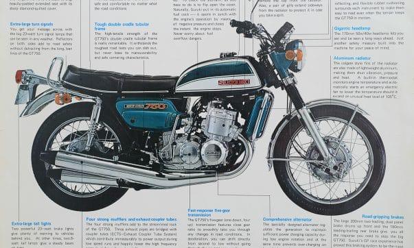 Suzuki GT 750 Prospekt