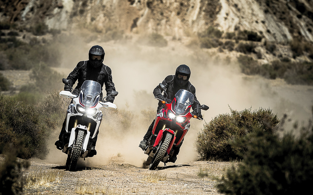 Die Honda CRF 1000L Africa Twin steht für Abenteuer pur. (