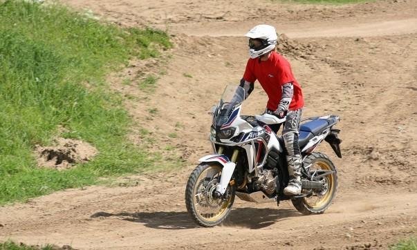 Honda Motorradsicherheitstraining fürs Gelände