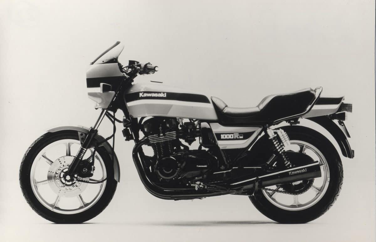 Kawasaki Z 1000 R Die Eddie Lawson Replika