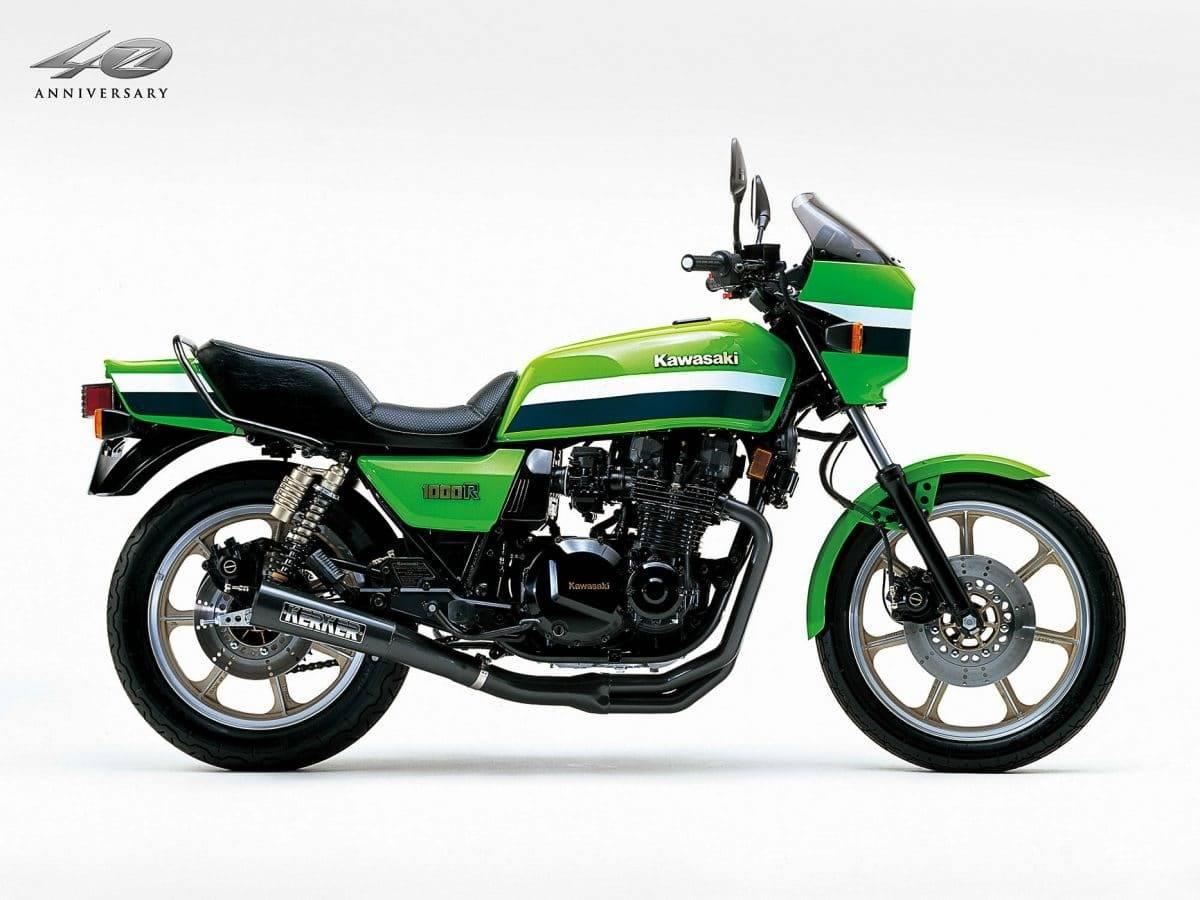 Kawasaki Z 1000 R – Die Eddie Lawson Replika