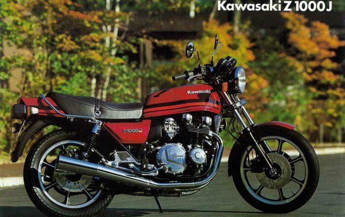 Prospekt Kawasaki Z 1000J
