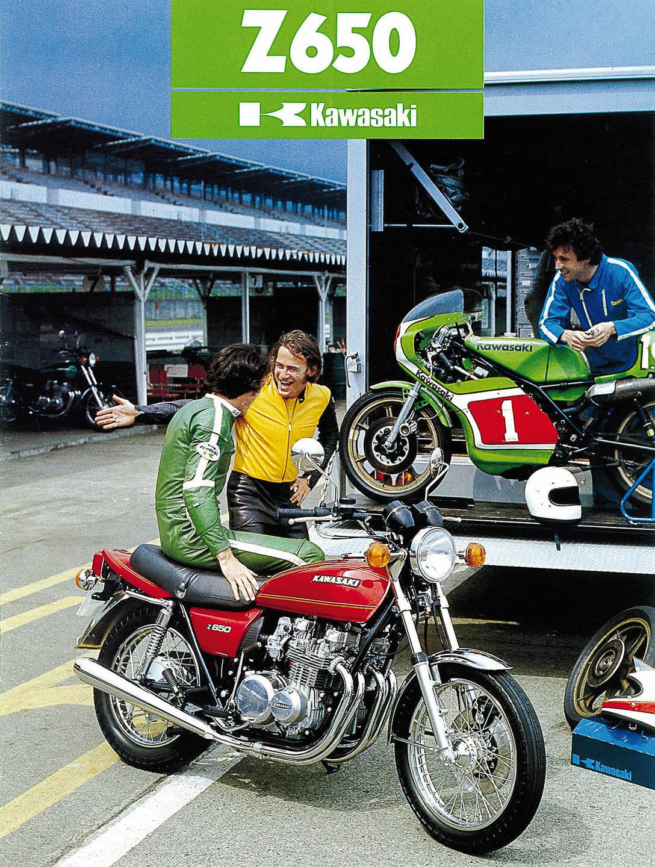 Kawasaki Z 650 Prospekt