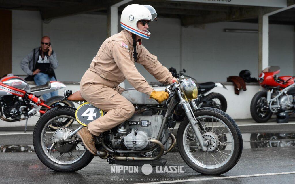 Dirk Oehlerking mit dem BMW 'SprintBoxer'