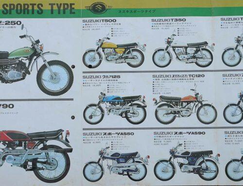 Suzuki-Prospekt allgemein von 1967
