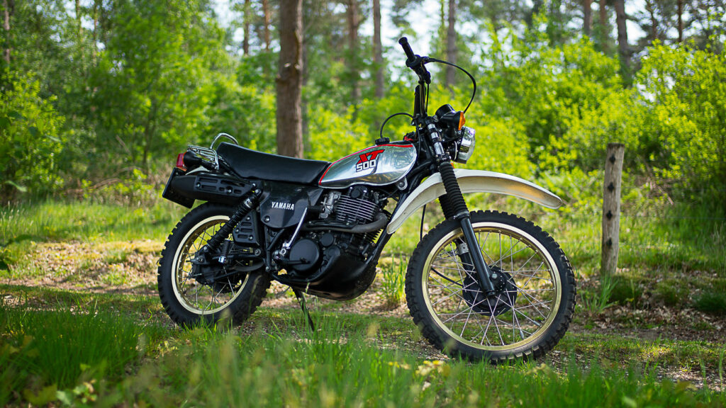 Die Yamaha XT 500 wurde auf Anhieb ein Erfolg