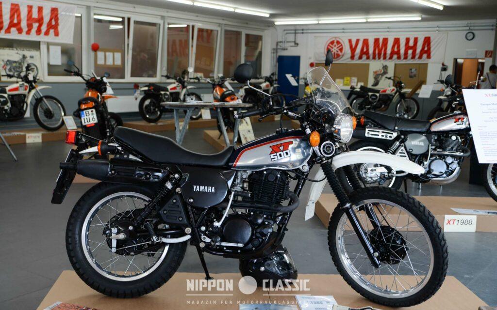 Ralf Miedek organisierte eine umfangreiche XT 500 Ausstellung