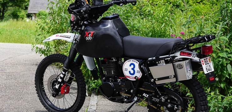 "Yamaha XT 500 ""Around the Baltic Sea"""