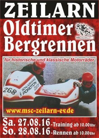 Oldtimer-Bergrennen Zeilarn