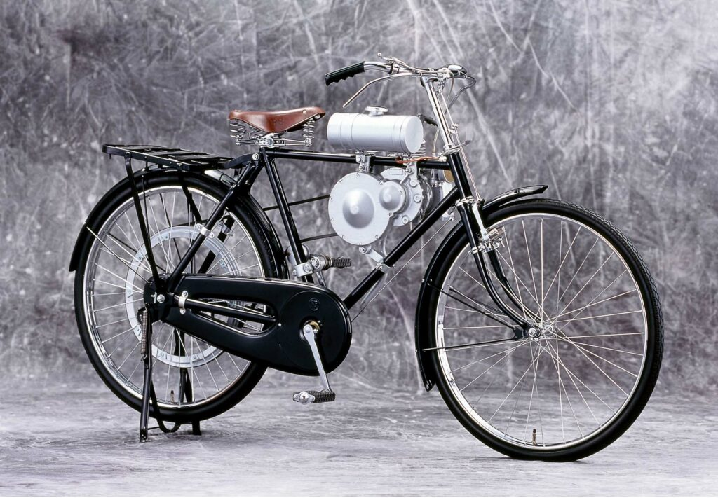 Der Anfang: Hondas Fahrradmotor aus dem Jahr 1946