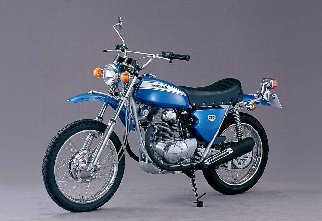 """Die SL 350 gilt als erste """"echte"""" Enduro von Honda"""