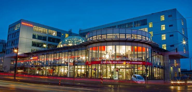 Honda Zentrale in Frankfurt