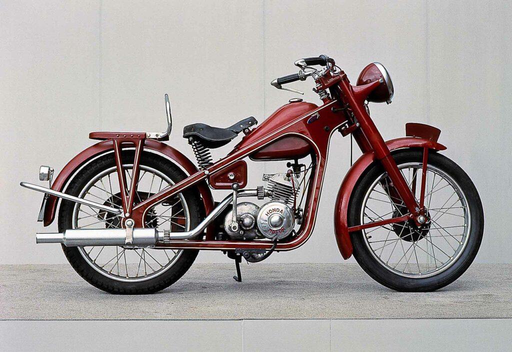 Die Dream D-Type war 1949 Hondas Einstieg in die Massenproduktion