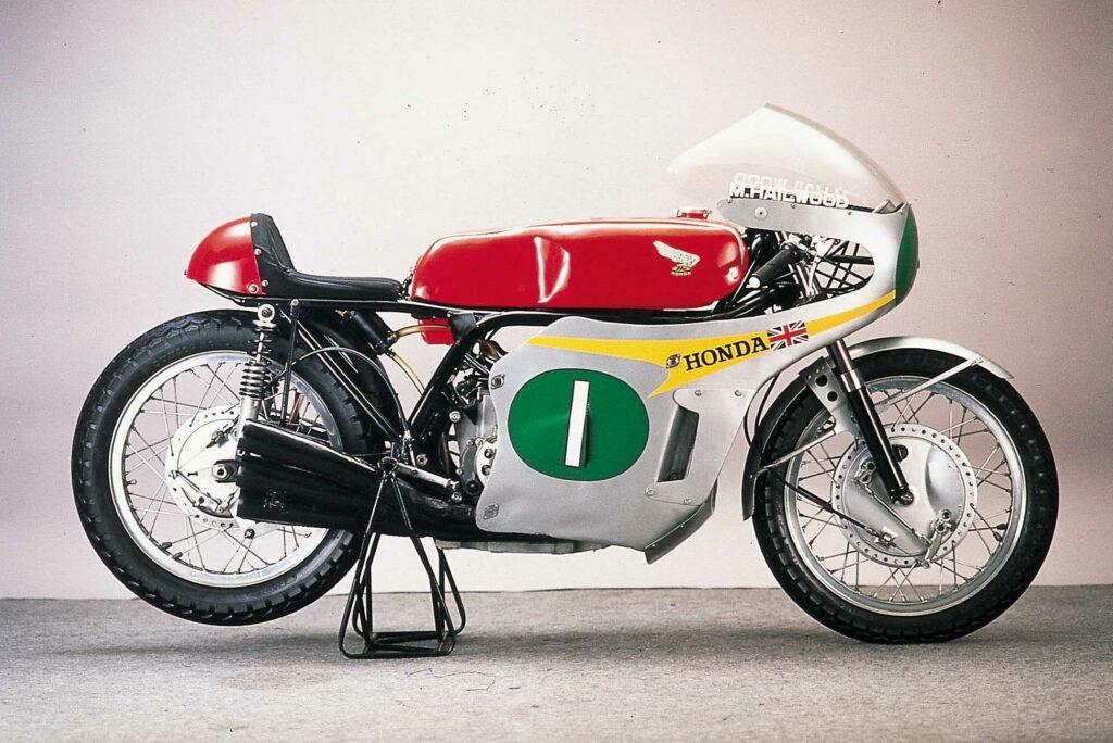 Rennmaschine Honda RC161 von 1960