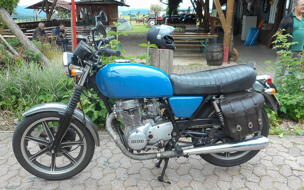 Treues Arbeitstier: Yamaha XS 400