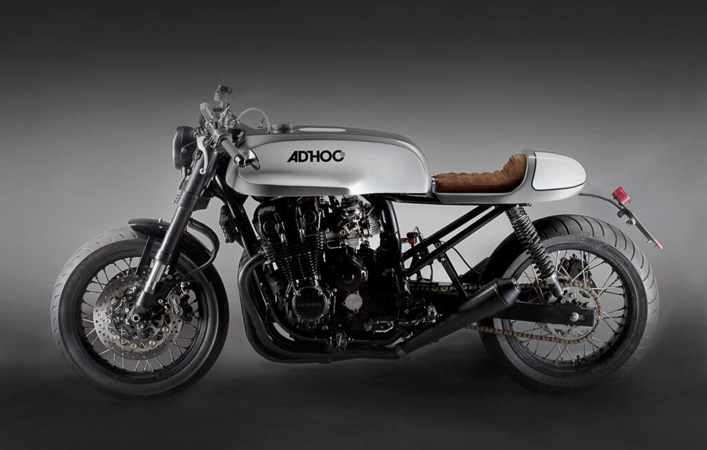 Die Honda CB 750 Nighthawk ist das 2. Projekt von Ad Hoc Café Racers