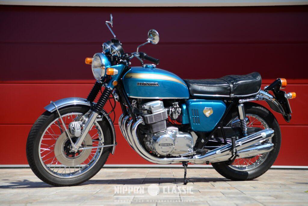 Drei Jahre später sorgte die Honda CB 750 Four für Furore