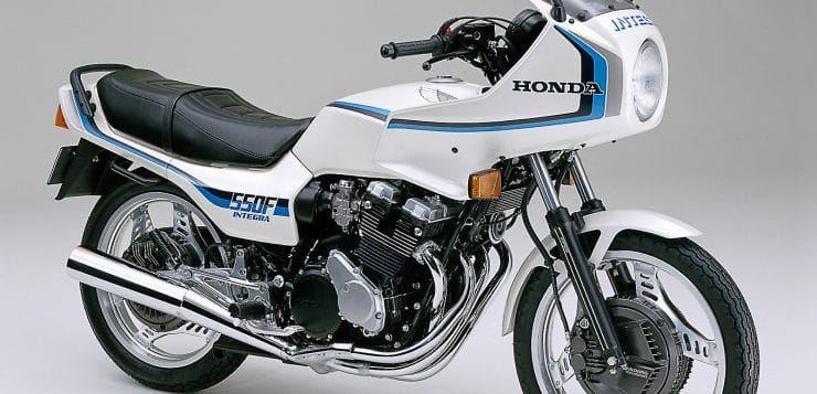 Honda CBX 550F
