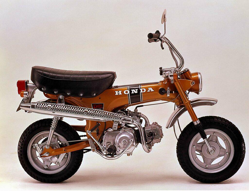 Die Honda Dax schuf ein neues Segment