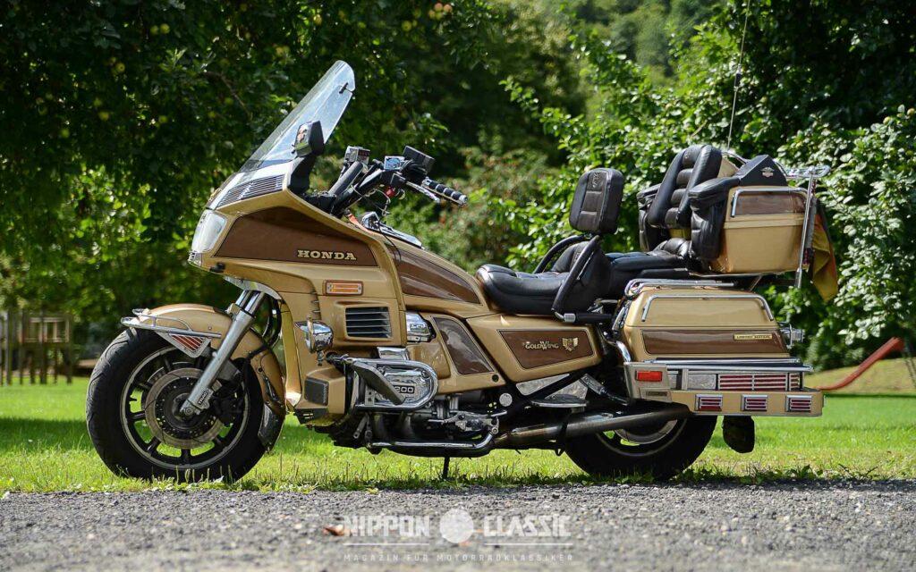 Die Honda Goldwing stand damals wie heute für Luxus pur