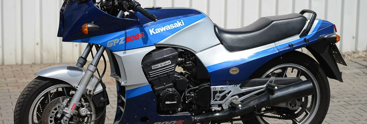 "Kawasaki GPZ 900 R – der Filmstar aus ""Top Gun"""