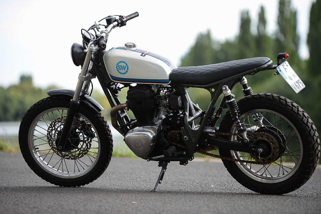 Kawasaki W 650 Scrambler