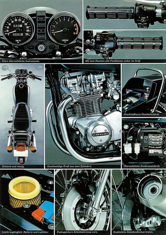 Kawasaki Z 750 Prospekt