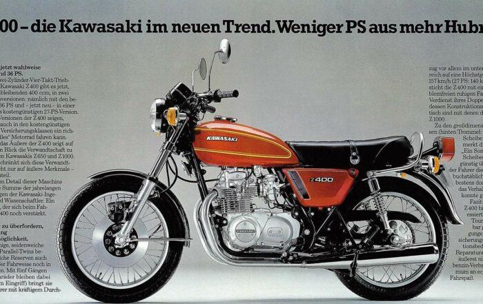 Kawasaki Z 400 Prospekt