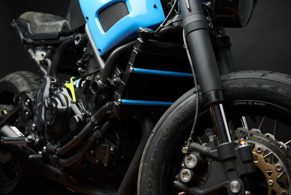 Viele Teile stammen von anderen Yamaha-Modellen