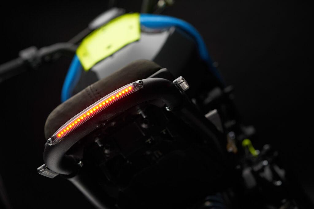 Unaufdringliches LED-Rücklicht