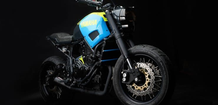 Yamaha XSR700 'Otokomae'
