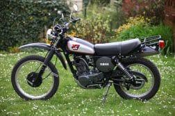 Modellentwicklung der XT500 von 1976 bis 1989