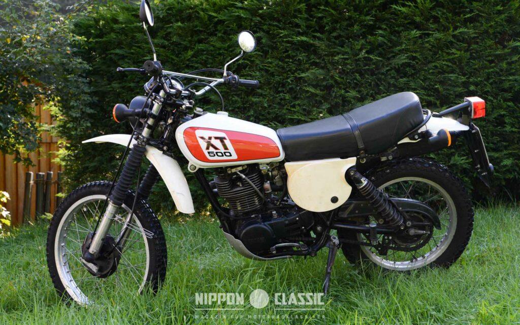 Die Yamaha XT 500 vereint Kraft und geringes Gewicht