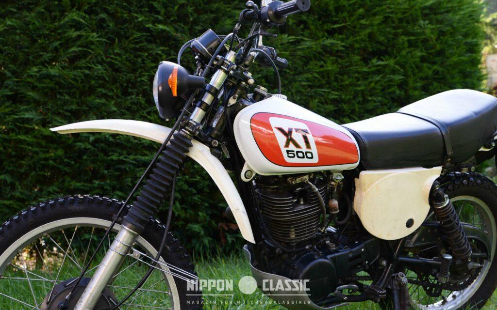 Der XT 500 Motor ist ein echter Dampfhammer - Durchzug garantiert