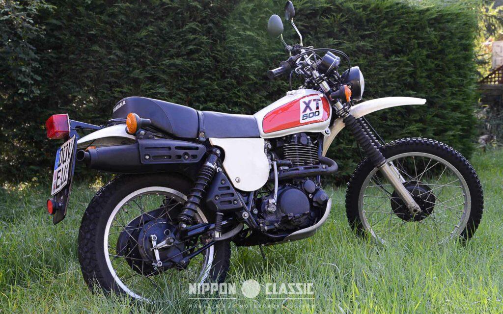 Schöne Yamaha XT 500 von 1978