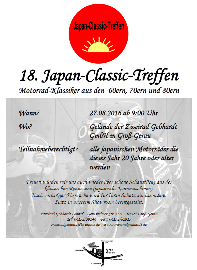 18. Japan Classic Treffen