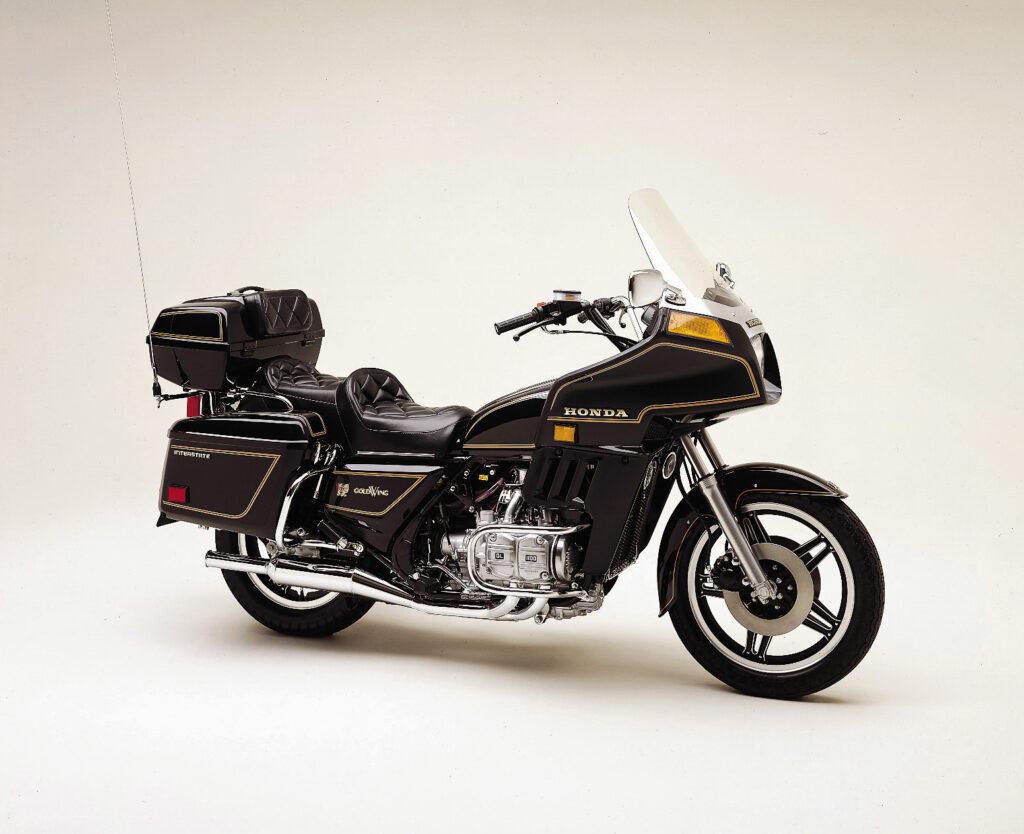 """Die GL 1100 """"Insterstate"""" kam erst später als """"DX"""" nach Europa"""