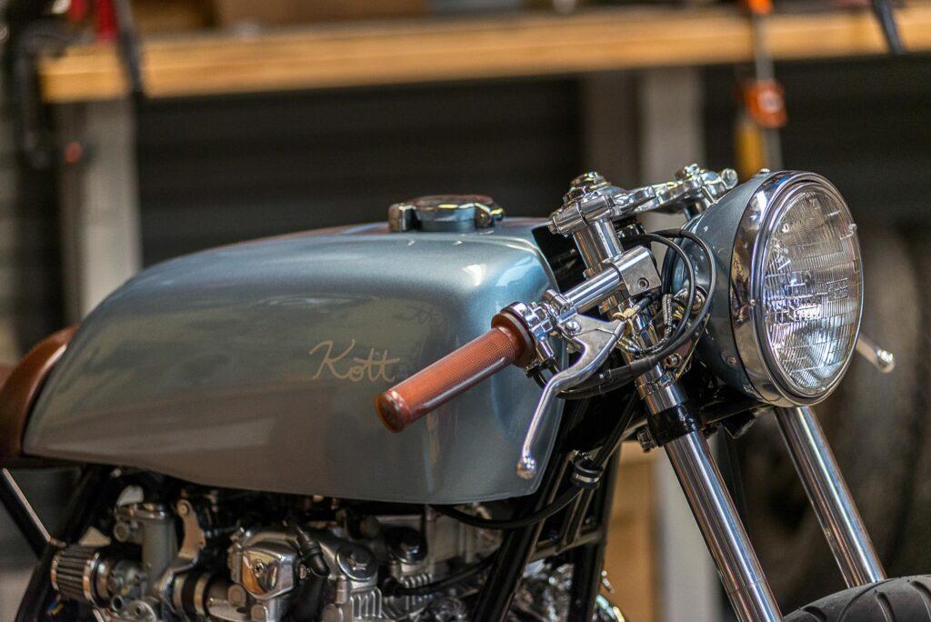 Tank der Falcon stammt von einer Ducati 750 SS