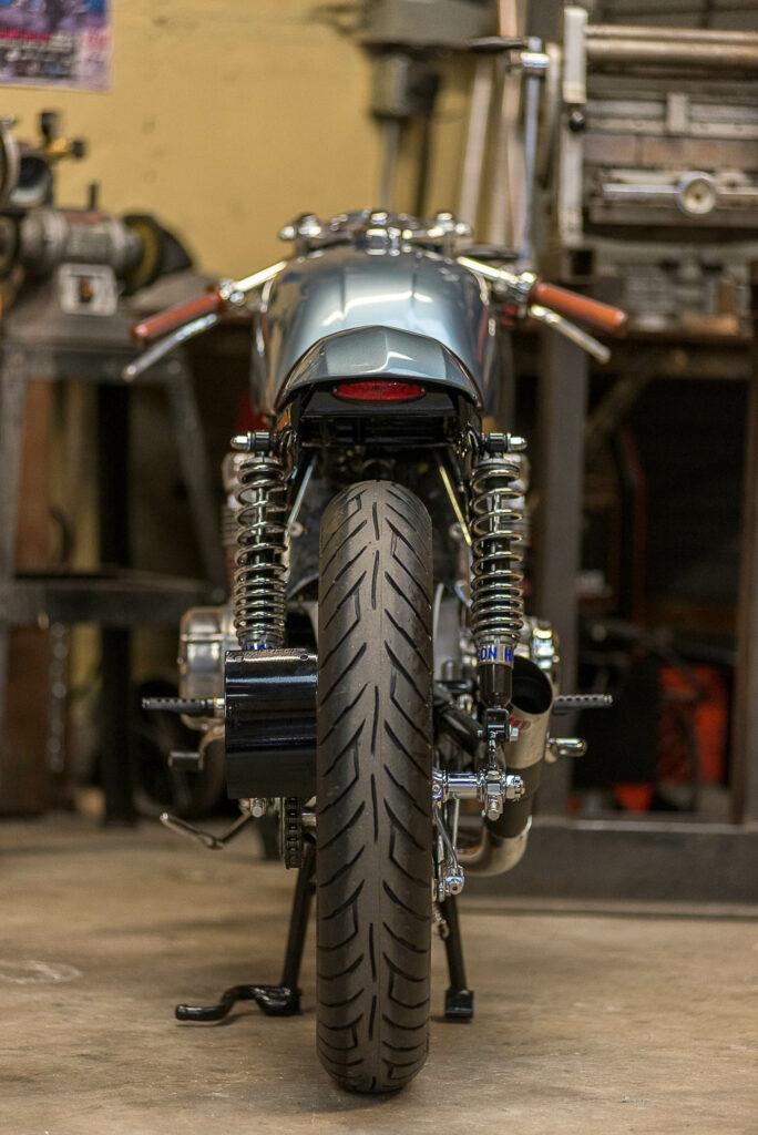 Schlicht und zeitlos schön: Honda CB 550 Falcon