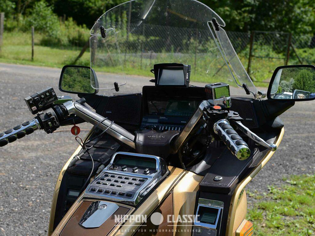 Honda GL 1200 Goldwing mit Komfortlenker