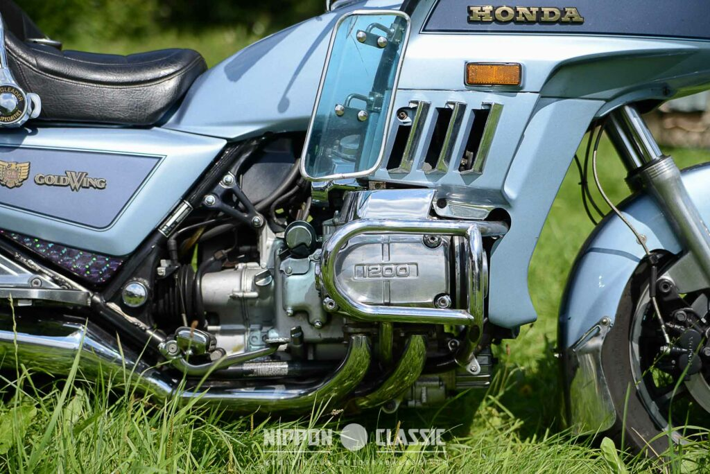 Der 1.182 ccm große Boxermotor der GL1200