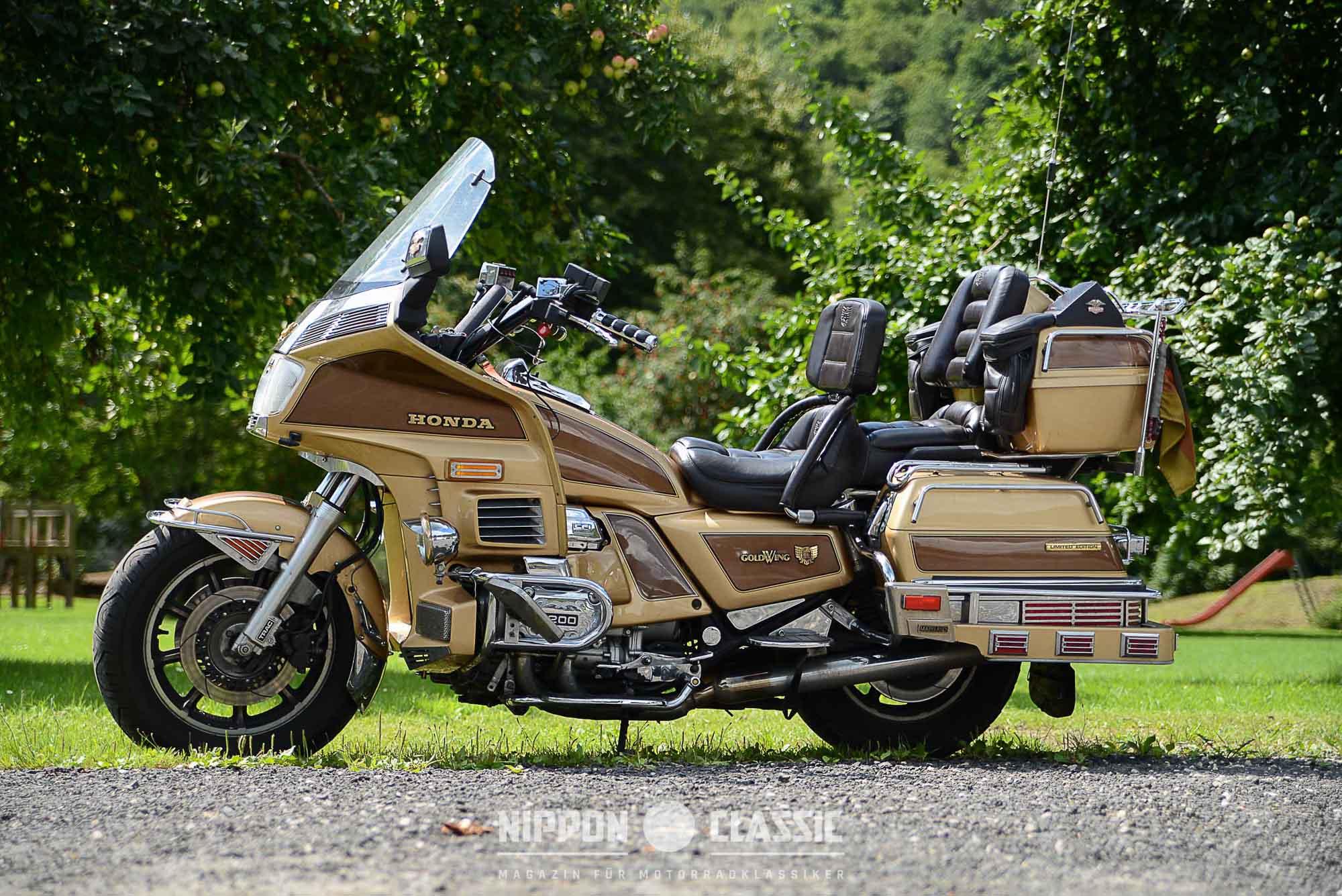 Honda GL 1200 Ltd. Edition mit Einspritzanlage