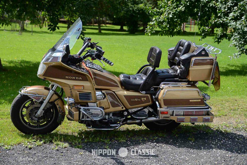 Die GL 1200 Limited Edition war 1985 in Sachen Ausstattung kaum zu überbieten